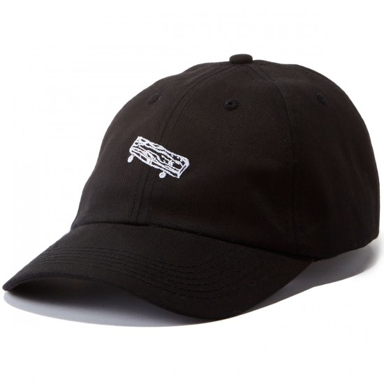 Old Friends Solo Board Dad Hat - Black