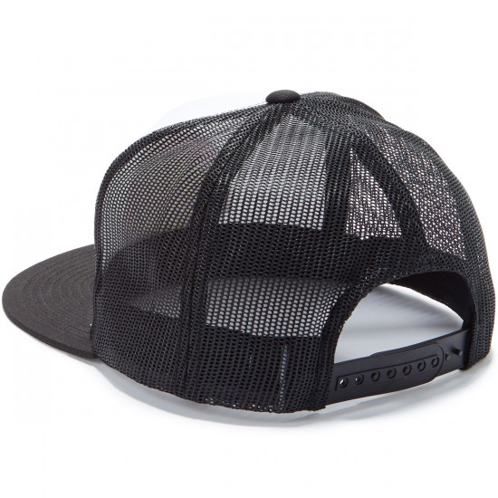 Santa Cruz Other Dot Trucker Hat - White/Black/Pink