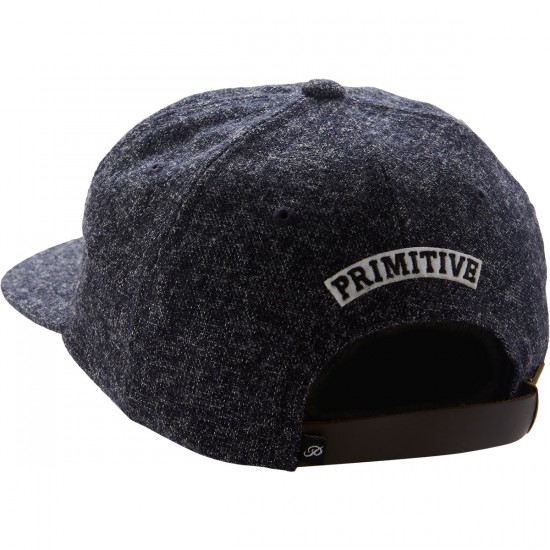 Primitive Dirty P Strapback Hat - Navy