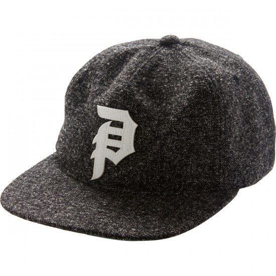 Primitive Dirty P Strapback Hat - Black