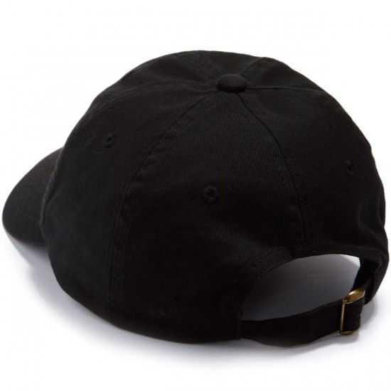 Pizza Tri Color Delivery Boy Hat - Black