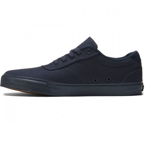 State Madison Shoes - Navy/Navy Canvas - 8.0