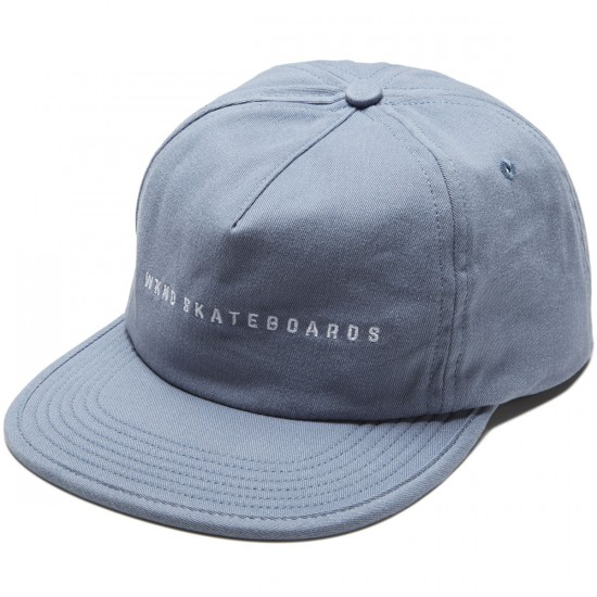 WKND 5 Panel Strapback Hat - Cool River