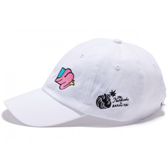 The Hundreds Buttox Strapback  Hat - White