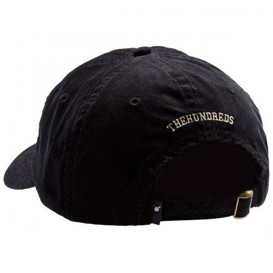 The Hundreds Solid Bomb Dad Hat - Black