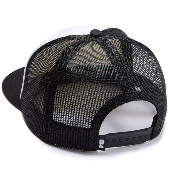 Psockadelic Monster Trucker Hat - Black/White