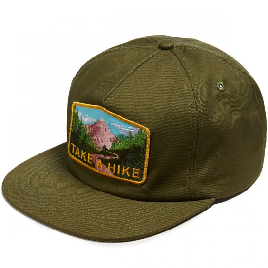 Skate Mental Take A Hike Hat - Forest Green
