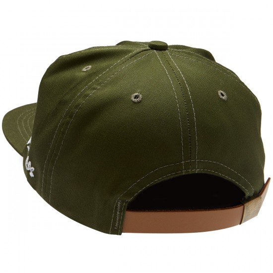 Old Friends Solo Board 6 Panel Hat - Olive