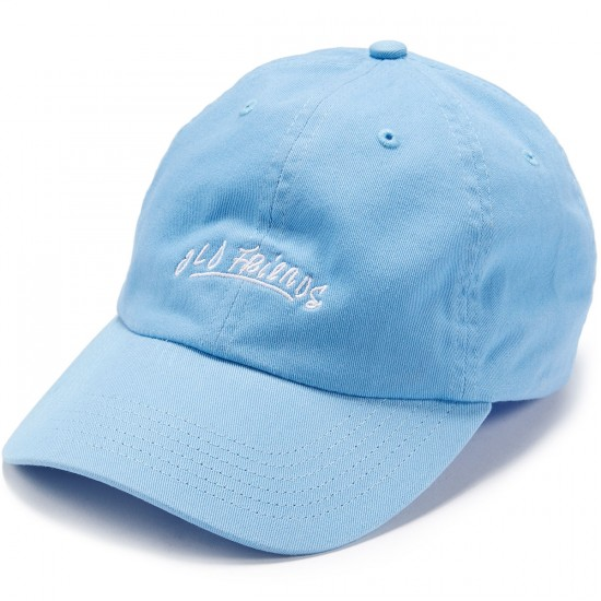 Old Friends OF Font Dad Hat - Blue