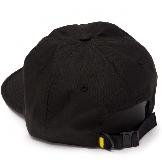 ABC Hat Co Train Strapback Hat - Black