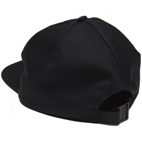 40s And Shorties Scribble Girl Hat - Black