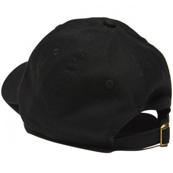 40s And Shorties High Fashion Dad Hat - Black