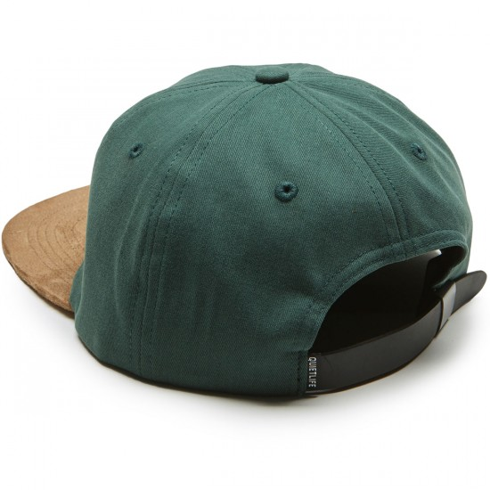 Quiet Life Cursive Polo Hat - Hunter Green
