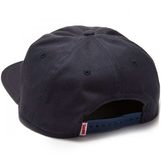 "Hopps ""H"" Unstructured Snapback Hat - Navy"