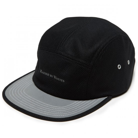 Raised By Wolves 3M Visor Camp Hat - Black Diamond Pro