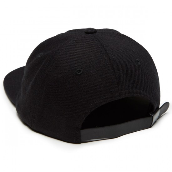 Raised By Wolves Geowulf Polo Hat - Black Wool Sergs