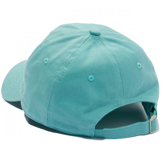 Deathwish Gang Logo Dad Hat - Teal