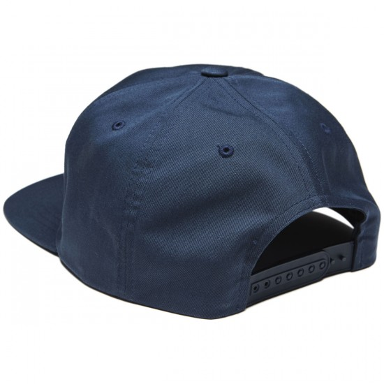 Pizza Logo Unstructured Hat - Navy