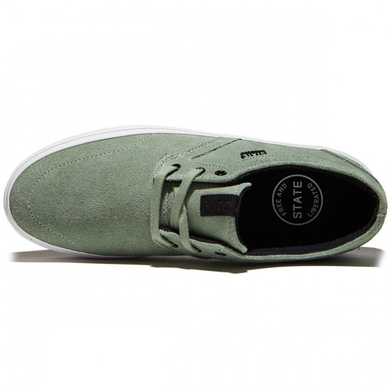 State Bishop Shoes - Mint Suede - 10.0