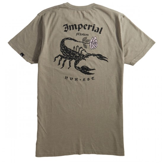Imperial Motion Stinger T-Shirt - Stone Grey