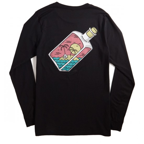 Imperial Motion Corked Longsleeve T-Shirt - Black