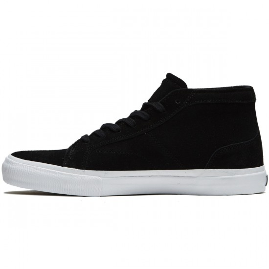 State X The Killing Floor Salem Shoes - Black/White Suede - 10.0
