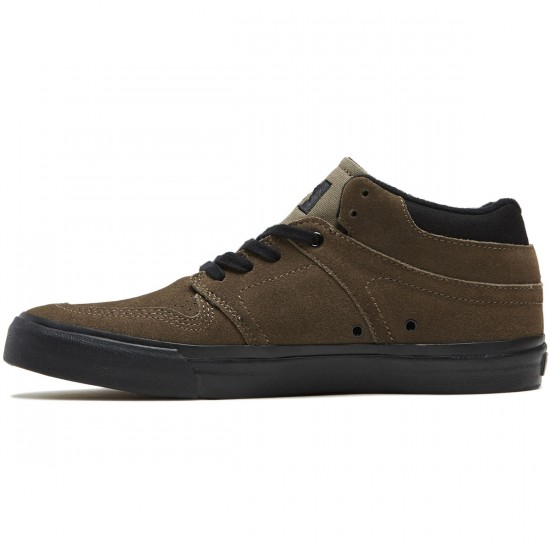 State Mercer Shoes - Walnut/Black Suede