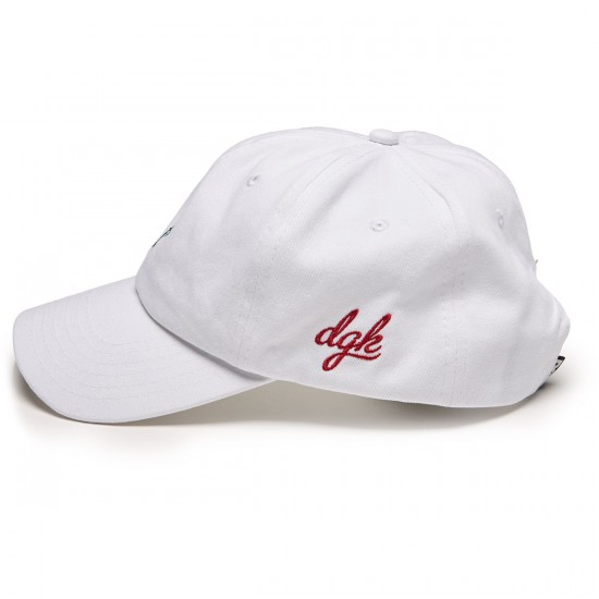 DGK Growth Strapback Hat - White