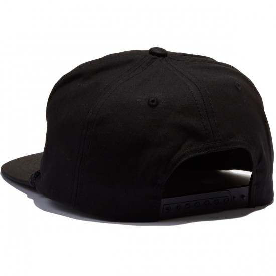 Lowcard Last Place Club Snapback Hat - Black