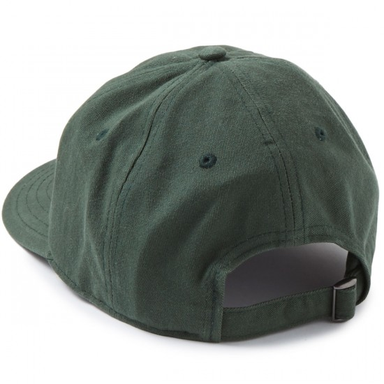 Welcome Scrawl Unstructured 6-Panel Slider Hat - Forest