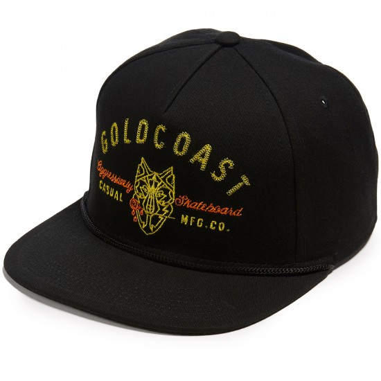 Gold Coast Cry Wolf Hat - Black