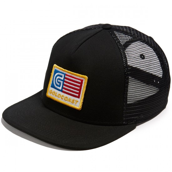Gold Coast Tracked Out Hat - Black