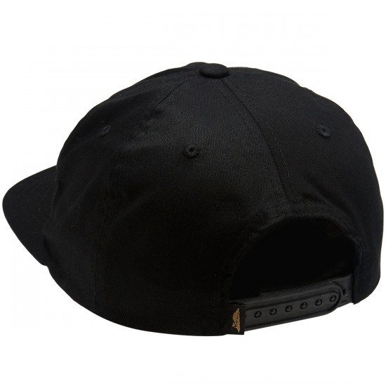 Benny Gold Levi of Judah Twill Unstructured Snapback Hat - Black