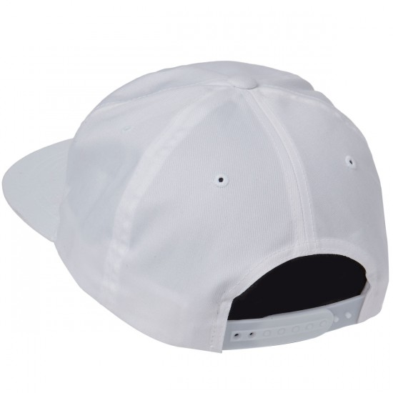 Welcome Fetish Unstructured 5-Panel Snapback Hat - White