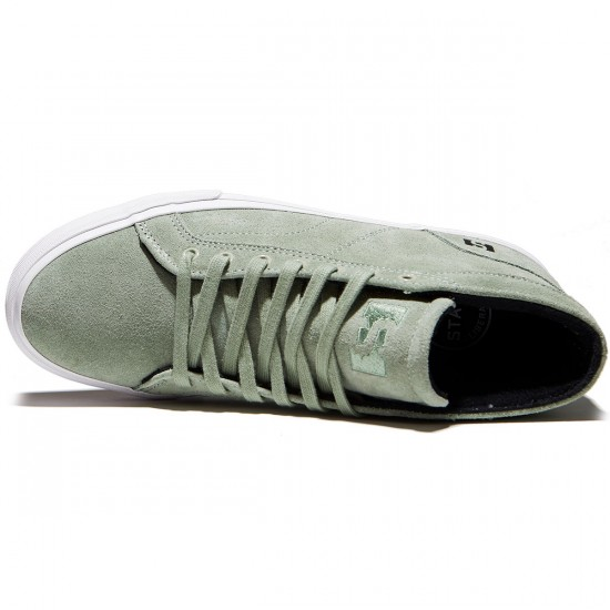 State Salem Shoes - Mint/White Suede - 8.0
