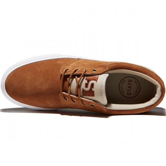 State Elgin Shoes - Monks/Sand Suede - 8.0