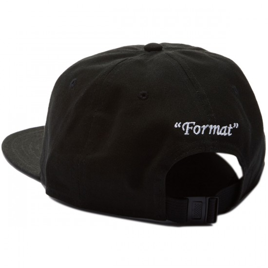 Format Einstein II Hat - Black