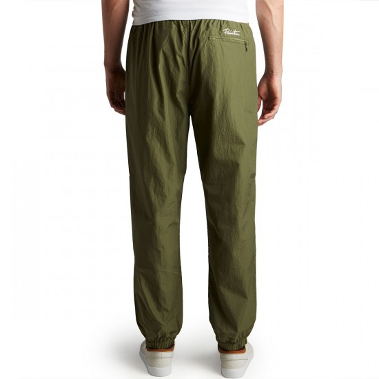 Primitive Creped Warm Up Pants - Olive Drab - SM