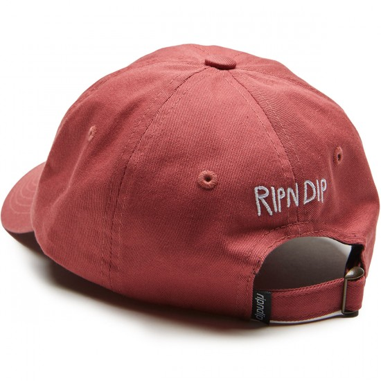Rip N Dip Nermshroom Dad Hat - Blush
