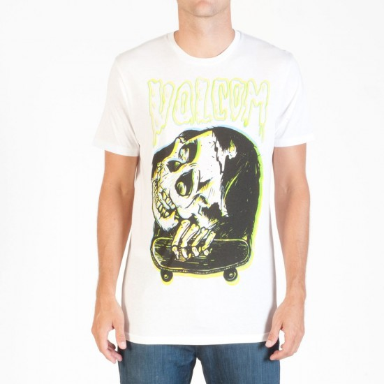 Volcom Shawn Higgins FA T-Shirt - Organic - White