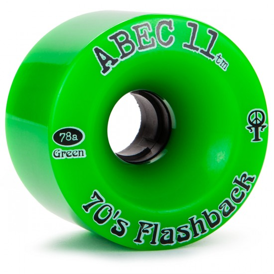 Abec11 70's Flashbacks Longboard Wheels 70mm
