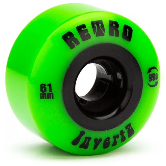 Abec11 Retro InvertZ Skateboard Wheels - 61mm - 99a