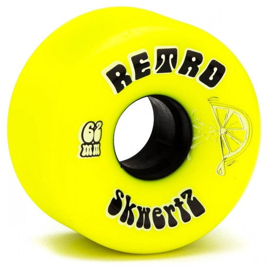 Abec11 Retro SkwertZ Skateboard Wheels - 62mm