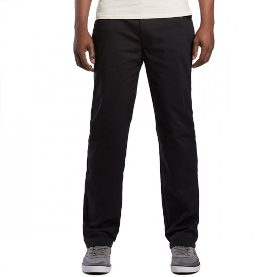 Adidas 5 Pocket Twill Pants - Black - 36 - 32