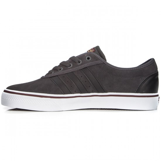 Adidas Adi-Ease Adv Shoes - Grey/Black/Dark Rust - 10.0