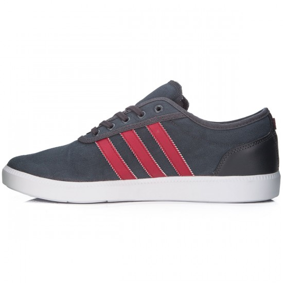 Adidas adi Ease Cup Shoes - Grey/Burgundy/White - 8.0