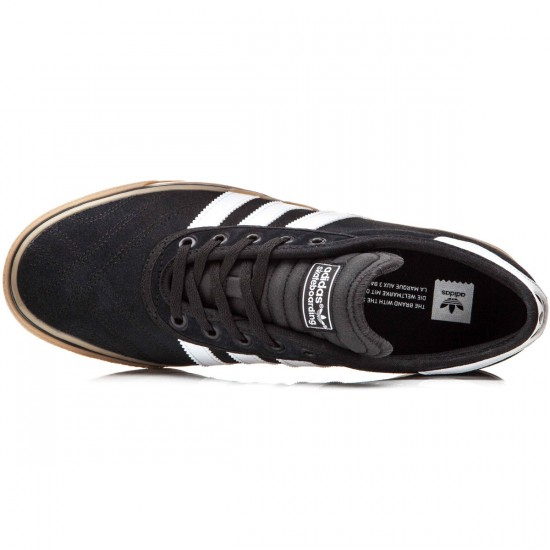 Adidas Adi-Ease Premiere Shoes - Black/White/Gum - 10.0