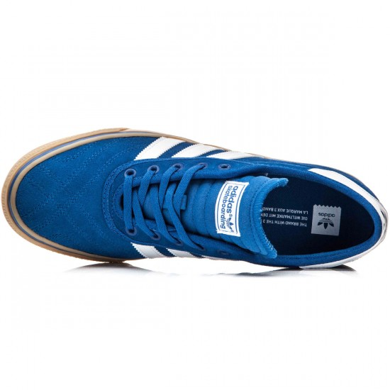 Adidas Adi-Ease Premiere Shoes - Blue/White/Gum - 10.0