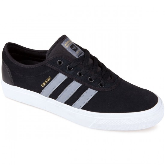 Adidas Adi Ease Pro Dennis Durrant Shoes - Core Black/Grey/White - 8.0