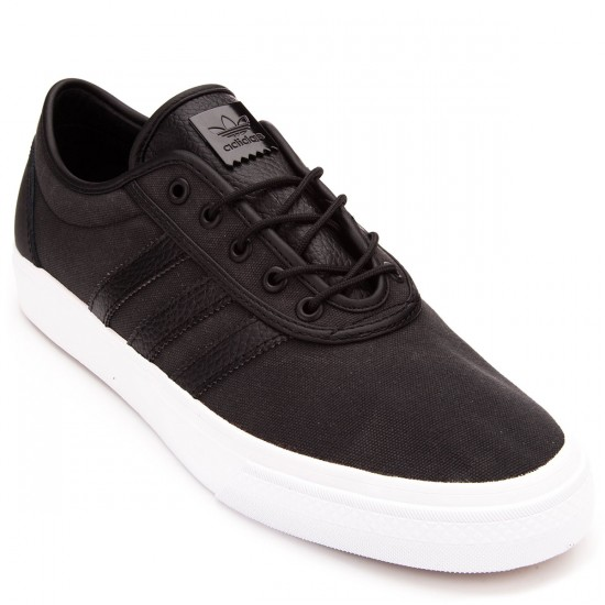 Adidas adi Ease Shoes - Black/Black/White - 6.0